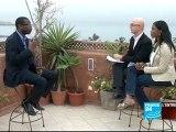 Élection présidentielle - Youssou Ndour, chanteur et candidat à la présidence du Sénégal