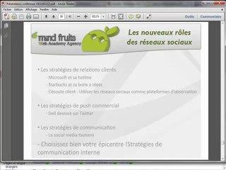 Plus de SEO sans SMO (Vidéo 7/7) - Conférence Formation (Nov. 2011)