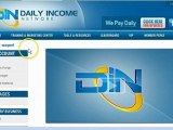 Daily Income Network Residual income