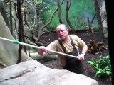 Human ape  ZOO Koln YouTube largest Vlog ephemeral8 aka Avi Rosen