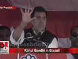 Congress Leader Rahul Gandhi in Bisauli (U.P) Part 8