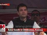 Congress Leader Rahul Gandhi in Chhibramau, Kannauj (U.P) Part 16