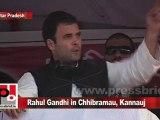 Congress Leader Rahul Gandhi in Chhibramau, Kannauj (U.P) Part 13