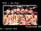 La Prolongation de VCB - Le Puy 7.01.2012