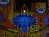 Architectural video projection - Narbonne (France) - Season's Greeting 2011 - part 1/4