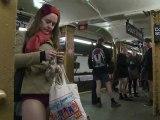 """La journée """"sans pantalon"""" fait toujours succès à New-York"""