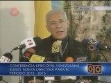 Nuevo presidente de la CEV reitera llamado a la reconciliación del país
