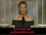 Meryl Streep Golden Globe Awards 2012 acceptance speech