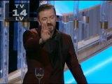 GOLDEN GLOBES: Ricky Gervais' best bits