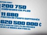 Campagne des Jeunes avec Hollande : Sarkozy 5 ans ça suffit