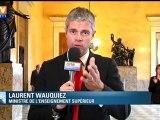 """Suppression du quotient familial : """"Hollande veut faire les poches des classes moyennes"""", selon Wauquiez"""