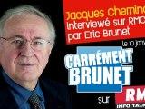 Jacques Cheminade sur RMC Carrément Brunet, avec Éric Brunet