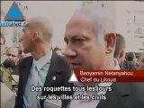 "Benyamin Netanyahou à Ashkélon: ""Nous supporterons les actio"