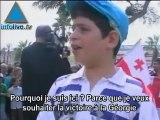 Chaîne humaine pour la Géorgie à Ashdod