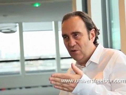 Interview Xavier Niel : Free Mobile, Femtocells, services mobiles à venir...