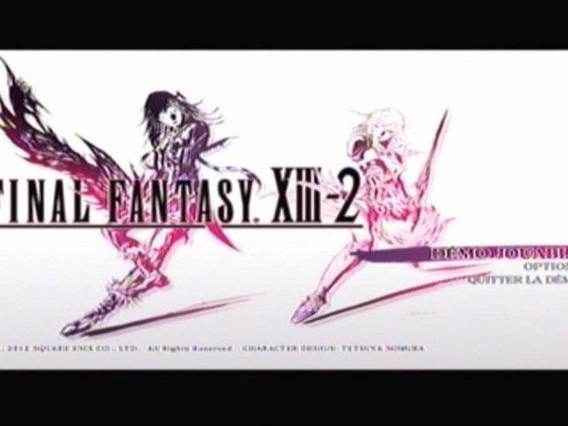 ALEXDUQUEBEC Final Fantasy XIII-2 ( XBOX360 ) (Live) Demo