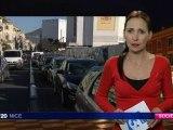 Nice : circulation difficile dans le centre-ville