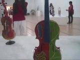 """Inaugurada muestra """"Violines Pintados"""" en Museo de la Cultura en Valencia, Venezuela"""