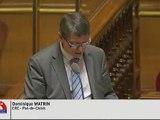 Question au gouvernement Dominique Watrin 01-12-11