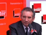 François Bayrou, invité du 7/9 sur France Inter - 120112