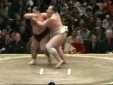 Baruto vs Wakakoyu  Day 4  Sumo Hatsu Basho January 2012