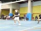 TELETHON 2011 : Match de Volley Profs/Elèves au Lycée de Castella à Pamiers (Ariège-09)