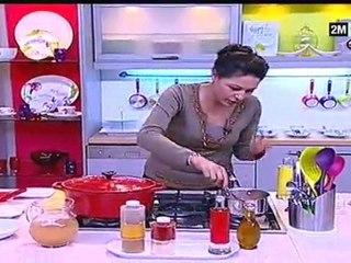 Choumicha - Gigot farci, facile : Recette de Cuisine Marocaine
