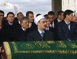 Cumhurbaşkanı Abdullah Gül ile Kırgızistan Cumhurbaşkanı Atambayev, Mehmet Hayati Eralp'in cenaze namazını katıldı