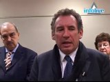 Interview de Francois Bayrou