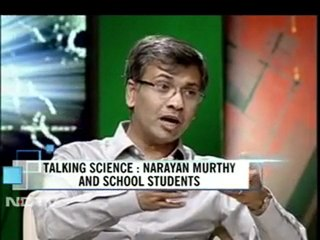 Talking science with Narayana Murthy