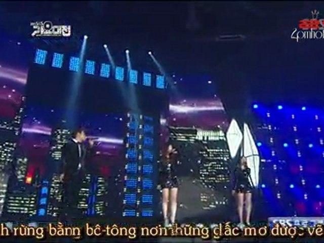 [Vietsub - 2ST] [111229] Empire State Of Mind - Junsu ft. Davichi @ MBC Gayo Daejun