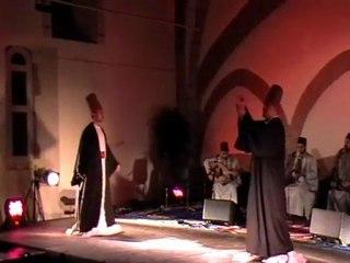 Noureddine KHOURCHID  et les DERVICHES TOURNEURS de la Grande Mosquée de Damas