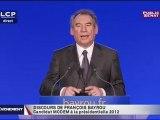 François Bayrou voit dans la perte du triple A la validation de son discours