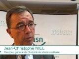 Rapport de l'ASN sur les ECS : Interviews du Président  et du Directeur général de l'ASN