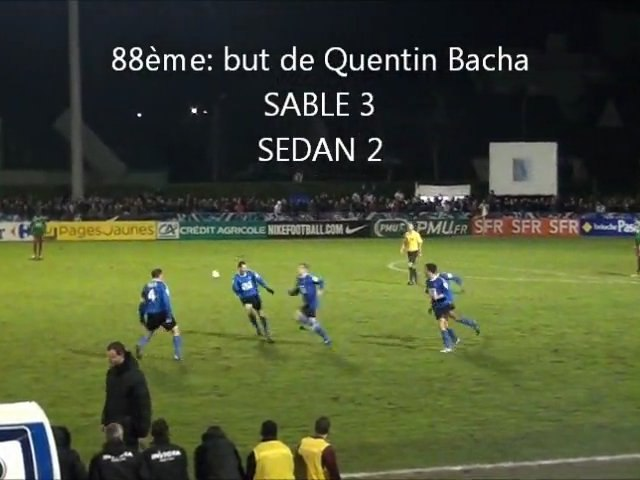 Coupe de France Sable-Sedan