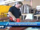Hausse des exportations israéliennes