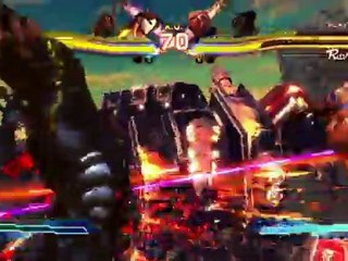January 2012 Gamplay SF de Street Fighter X Tekken