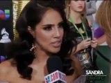 Sandra Echeverria en Los latin grammys Entrevista via Univision Musica