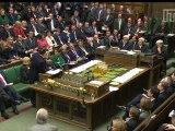 David Cameron and Ed Miliband clash at PMQs