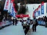 La Grande Odyssée Savoie Mont Blanc 2012 Etape 9 L'attelage de Jean-Philippe Pontier