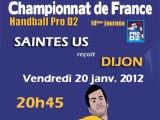 Saintes US reçoit Dijon Bourgogne Hand Pro D2