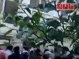 مظاهرة بعد تشييع الشهيد خالد العويد حمص سوريا