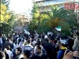 مظاهرات الجالية السورية في اليونان ضد النظام 22-4-2011