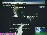 No Tsunami Reported After 6.6 Antarctica Earthquake