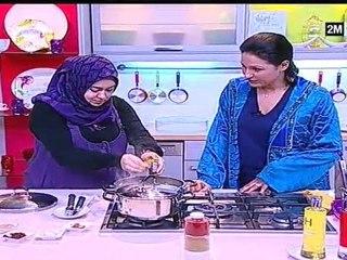 chhiwat choumicha biryani viande et riz basmati