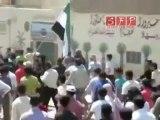 ادلب بنش احد الشهداء قتل برصاص الشبيحة 31-7-2011