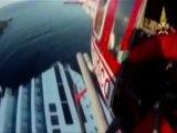 Costa Concordia : l'arrivée des secours vue d'hélicoptère
