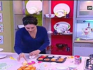 Choumicha - Cupcakes à la Crème, Bonbons et Fondant