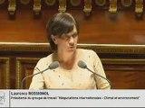 L. Rossignol dans le débat Négociations internationales - Climat et environnement »