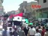 فري برس   ادلب سرمين جمعة صمتكم يقتلنا 29-7-2011